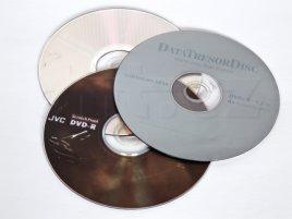 Tři DVD média v testu