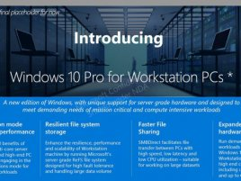Windows 10 Workstation