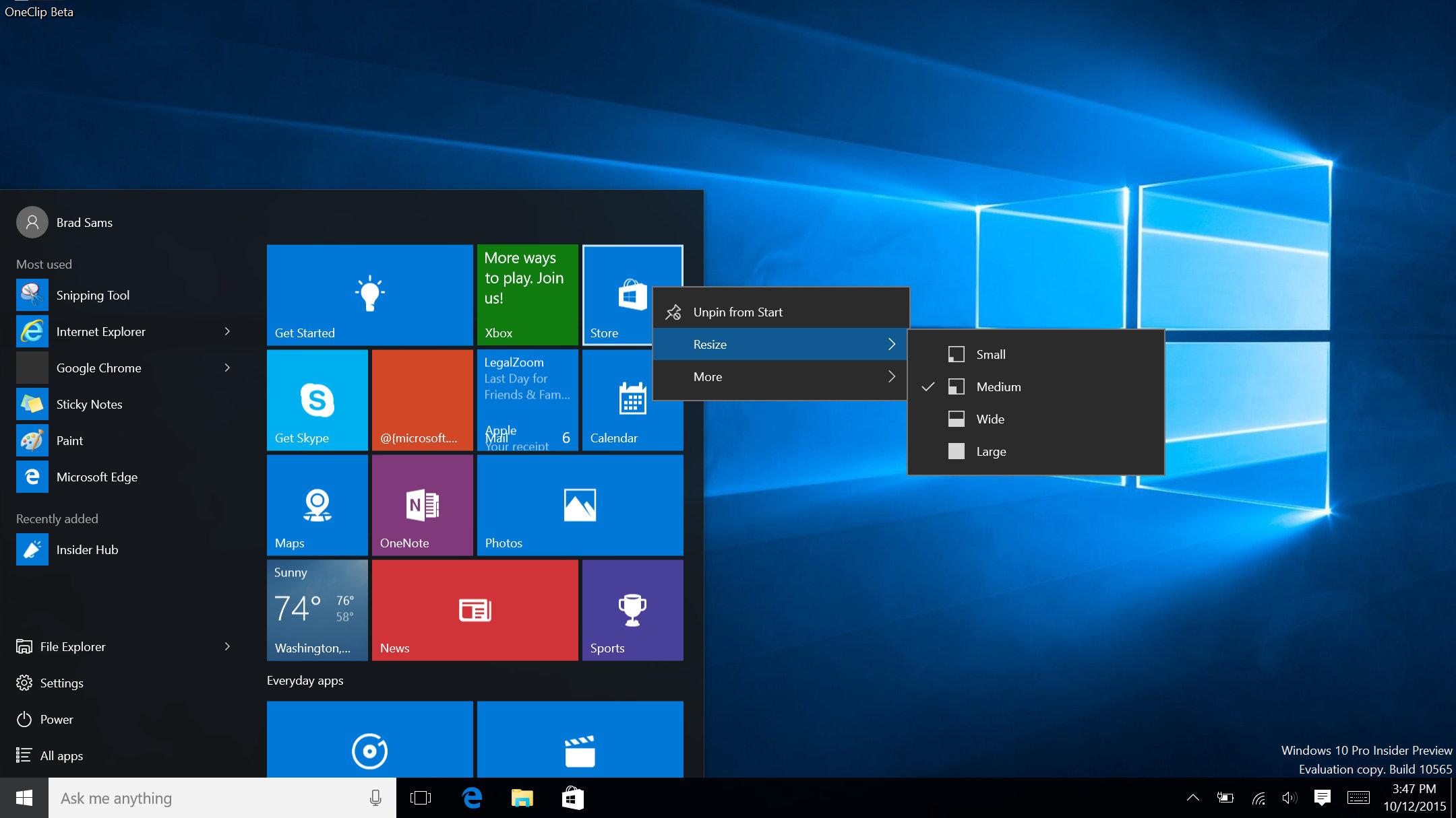 Windows 10 update má integrovaný Skype a další nové funkce ...